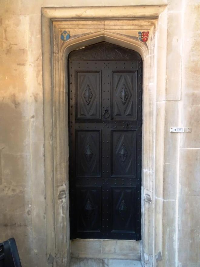 Door, Church of St John the Baptist, Bristol