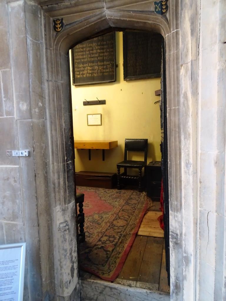 Doorway, Church of St John the Baptist, Bristol