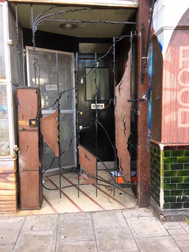 Door, Bamba Bazaar, Gloucester Road, Bristol
