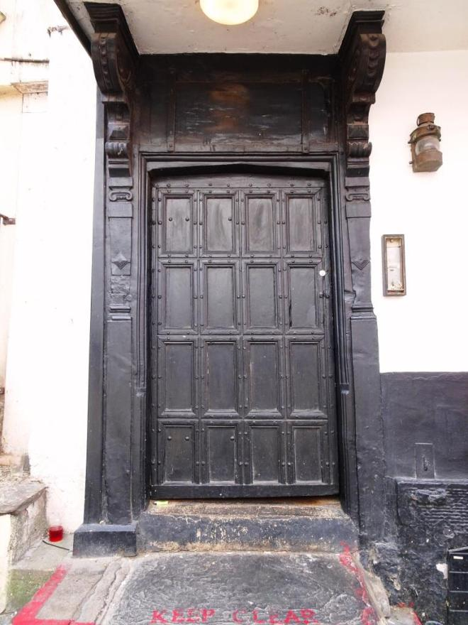 Door, Llandoger Trow, King Street, Bristol