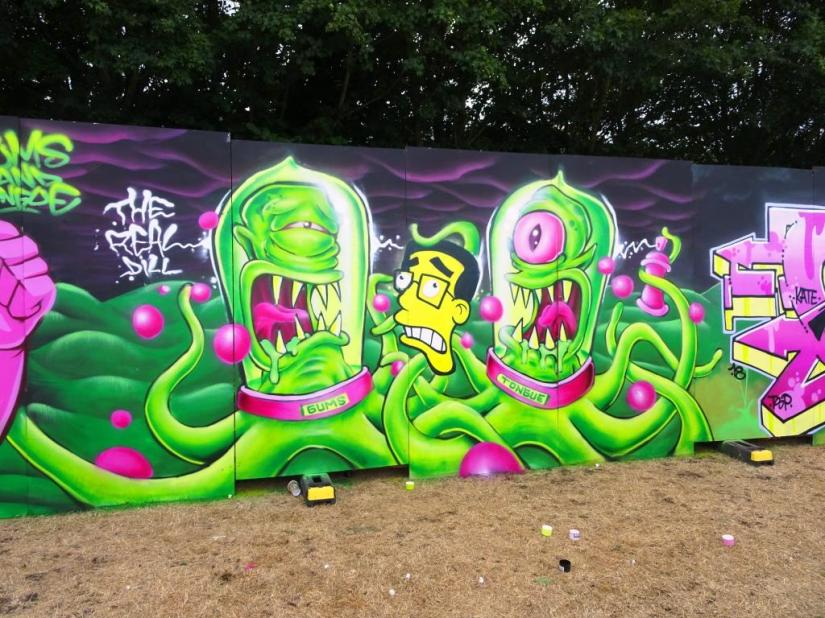 The Real Dill, Upfest, Bristol, July 2018
