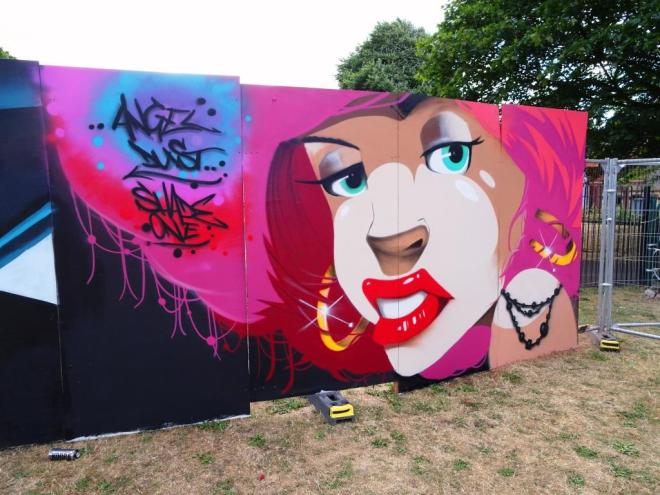 Shade One, Upfest, Bristol, July 2018