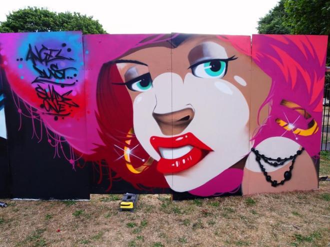 Shade One, Upfest, Bristol, July 2018