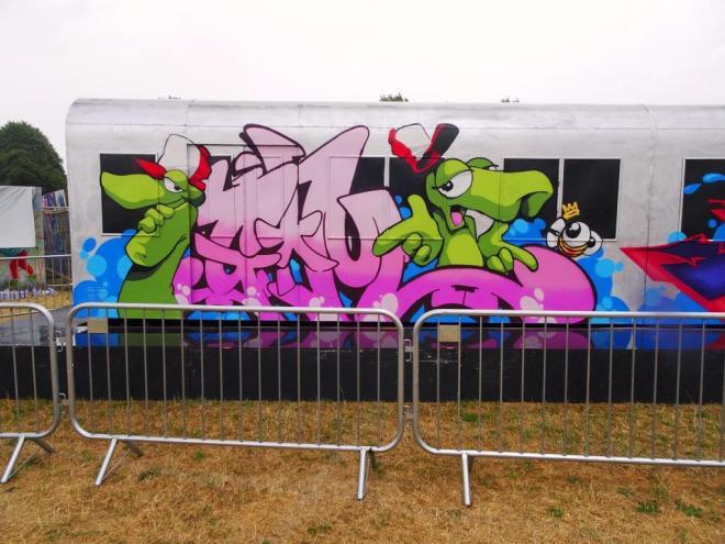 Cheo, Upfest, Bristol, October 2018