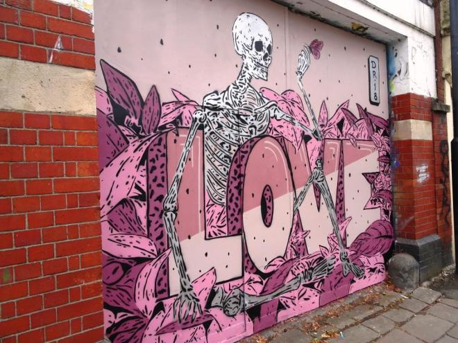 Dr. Love, Upfest, Bristol, July 2018