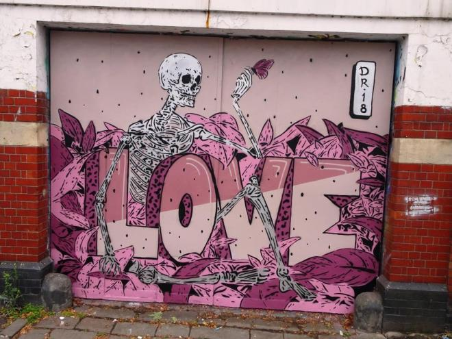 Dr. Love, Upfest, Bristol, July 2018
