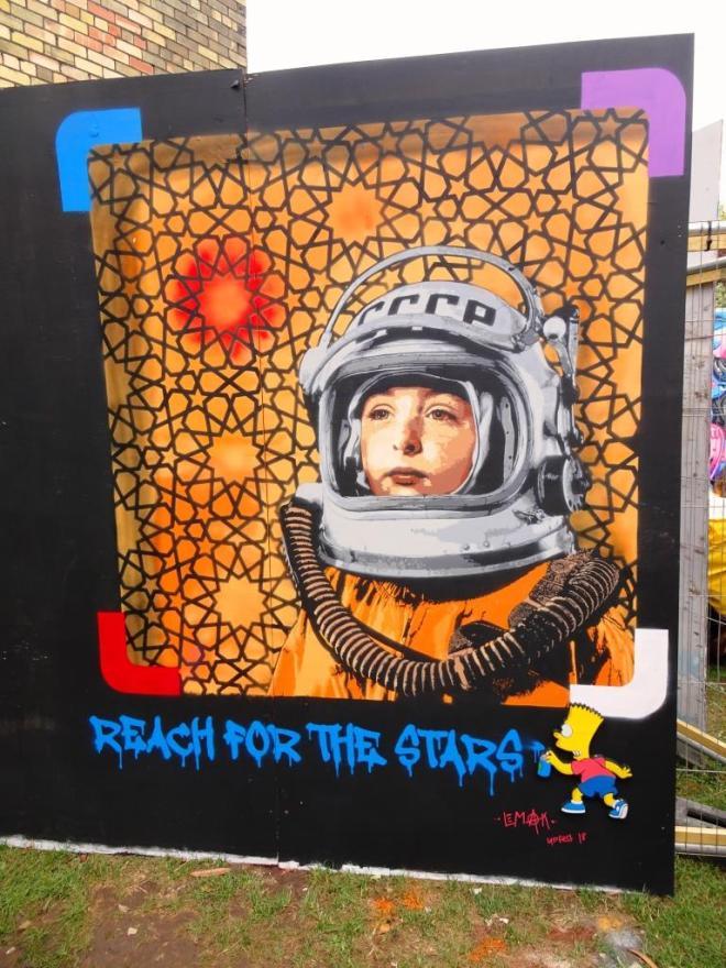 Lemak, Upfest, Bristol, July 2018