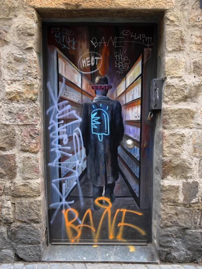 Door, Barcelona, March 2018