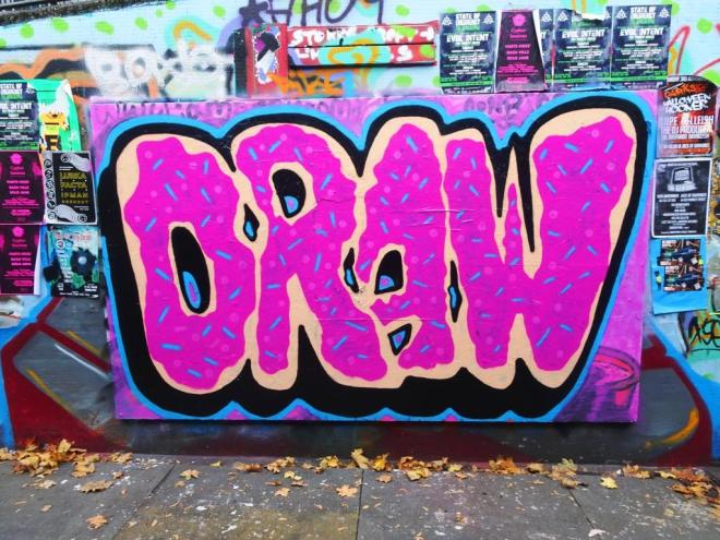 Mr Draws, The Bearpit, Bristol, October 2018