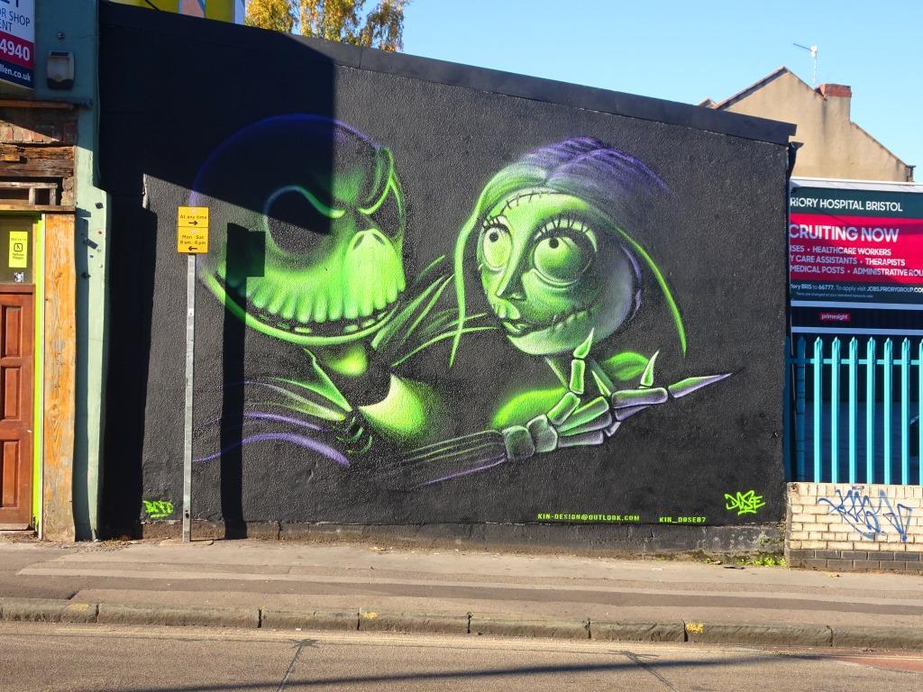 Kin Dose, West Street, Bristol, October 2018