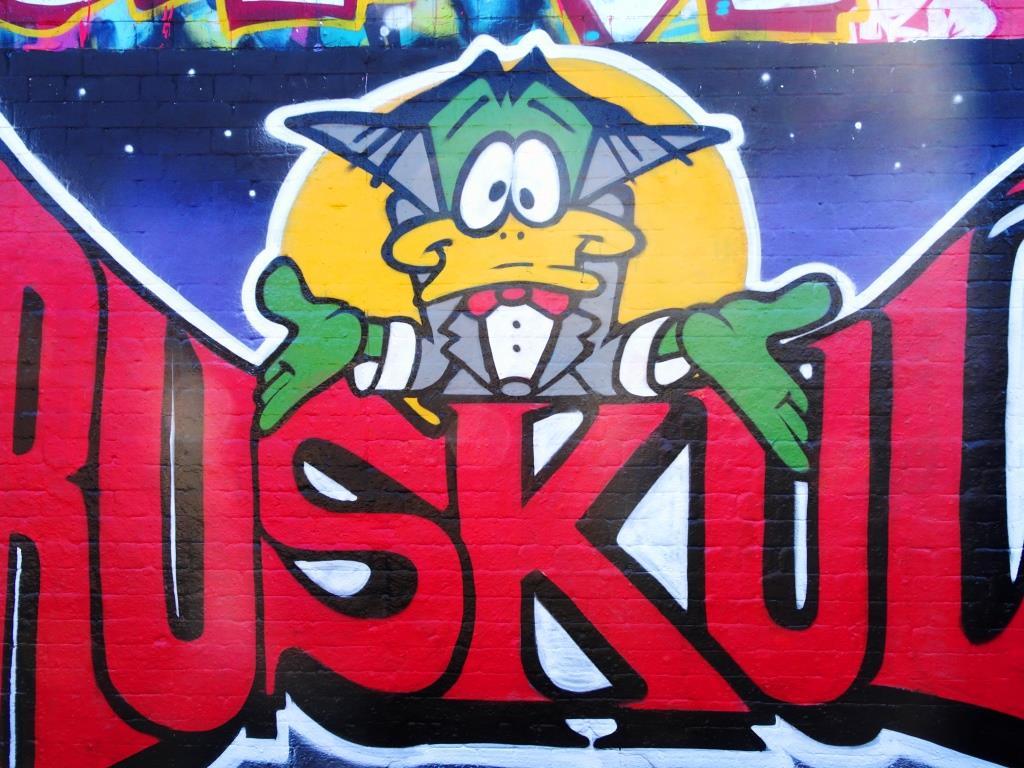 Rusk, Dean Lane, Bristol, October 2018