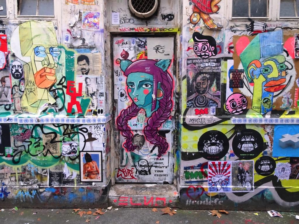 Shoreditch door, November 2018