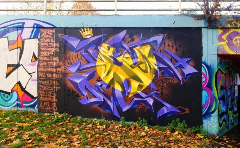 Sikoh, M32 roundabout, Bristol, November 2018