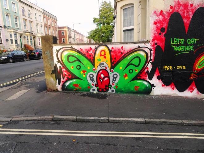 Decay, Brighton Street, Bristol, November 2018