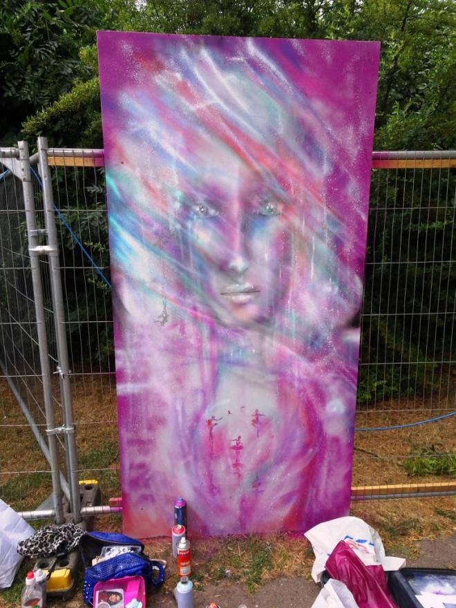 Annika Pixie, Upfest, Bristol, July 2018