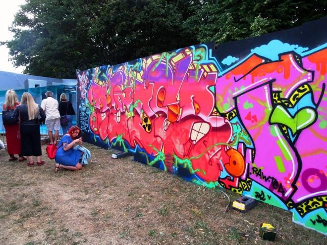 Ryder, Upfest, Bristol, July 2018
