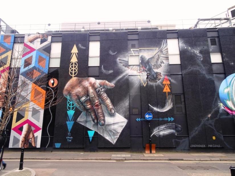 Nomad Clan, Shoreditch, London, November 2018