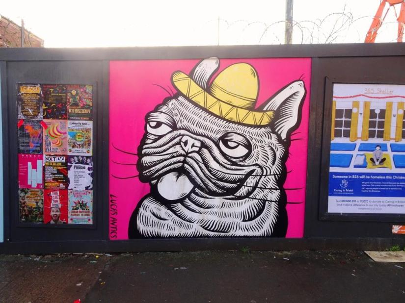 Alex Lucas, Ashley Road, Bristol, December 2018