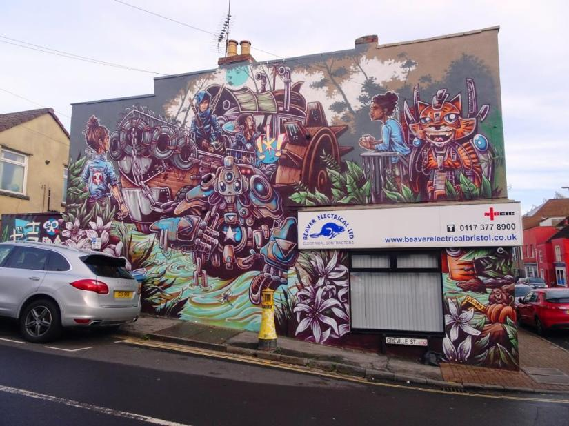 SPZero76, Greville Street, Bristol, December 2018