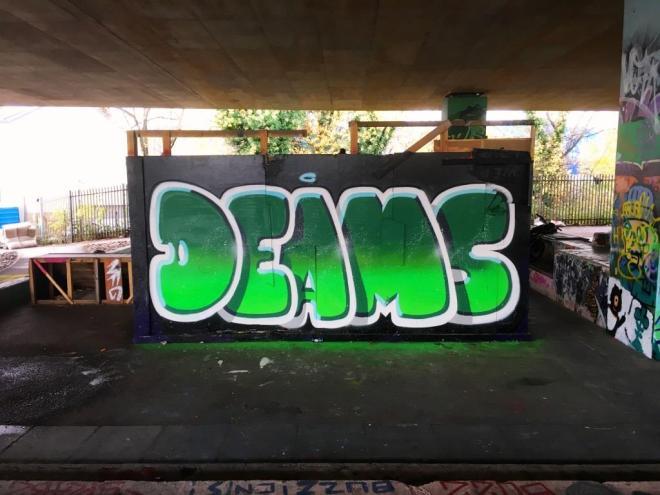 Deamze, M32 spot, Bristol, November 2018