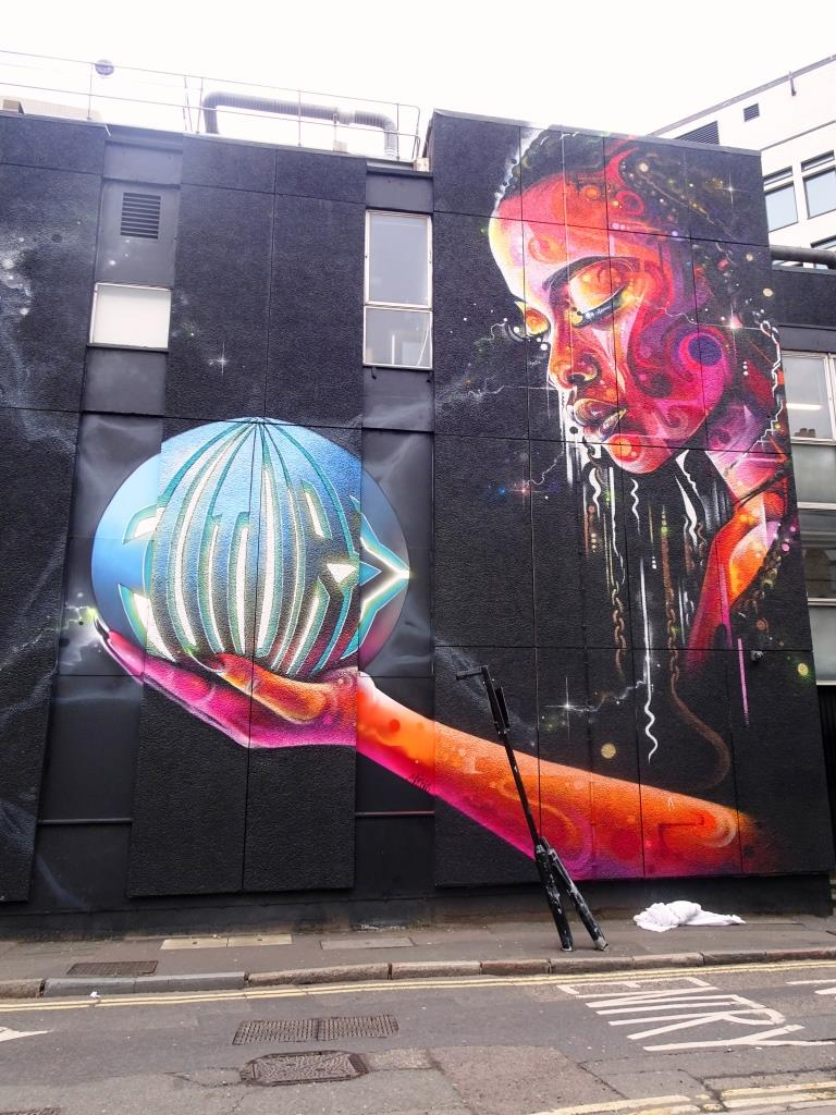 Lovepusher and Mr Cenz, Shoreditch, London, November 2018