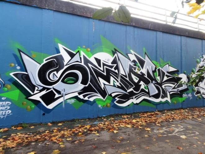 Smak, M32 roundabout, Bristol, November 20189