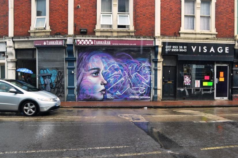 Sake One, Upfest, Bristol, July 2018