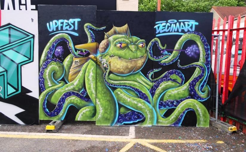 Decimart, Upfest, Bristol, July 2018
