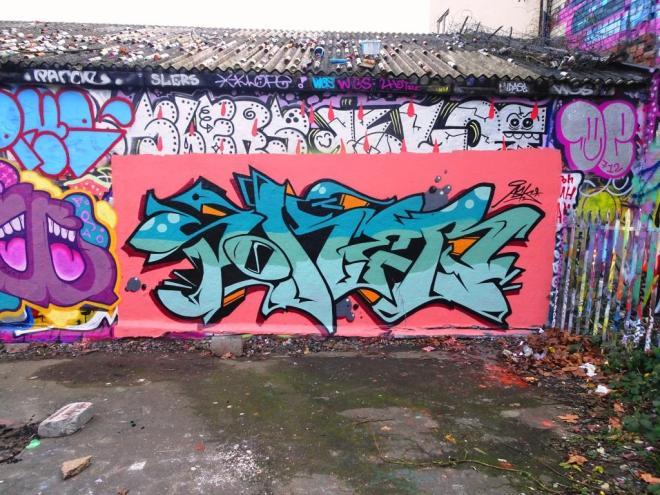 Soker, Dean Lane, Bristol, January 2018