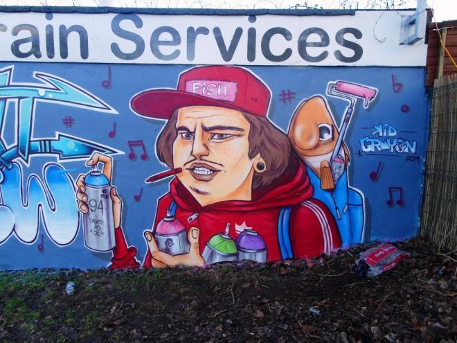 Kid Crayon, Millpond Street, Bristol, Jabnuary 2019