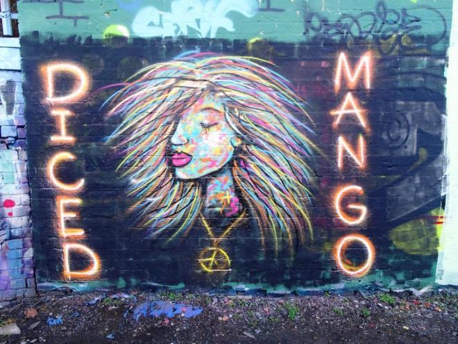 Diced Mango, Dean Lane, Bristol, January 2019