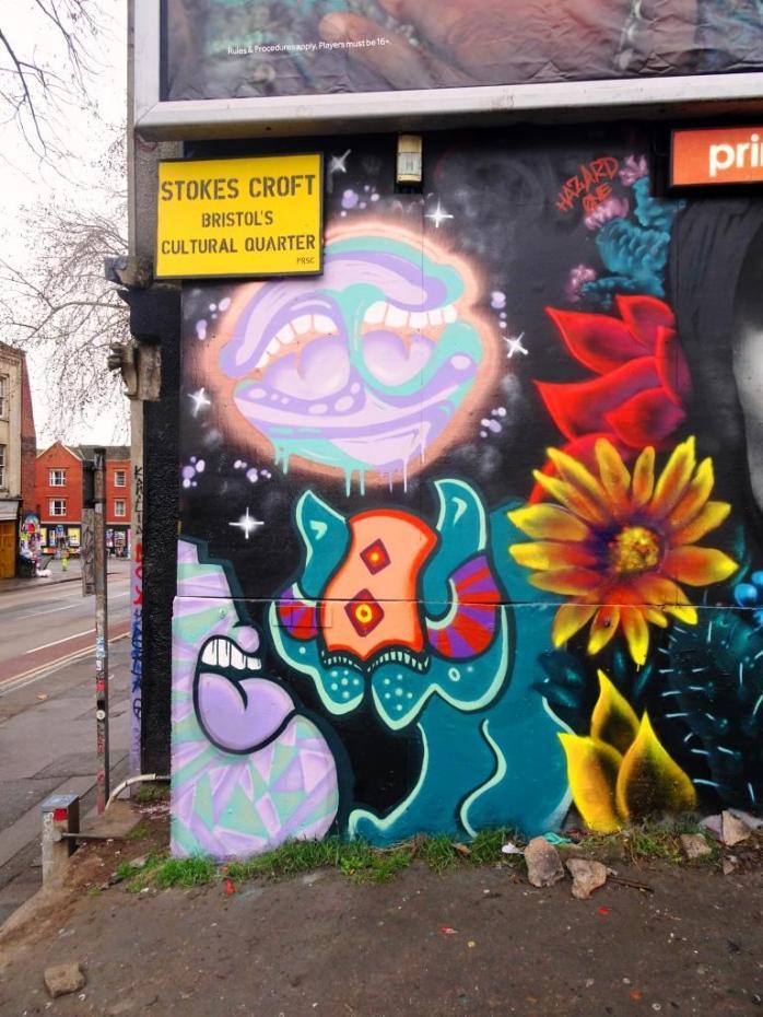 Soap and Tasha Bee, Stokes Croft, Bristol, January 2019