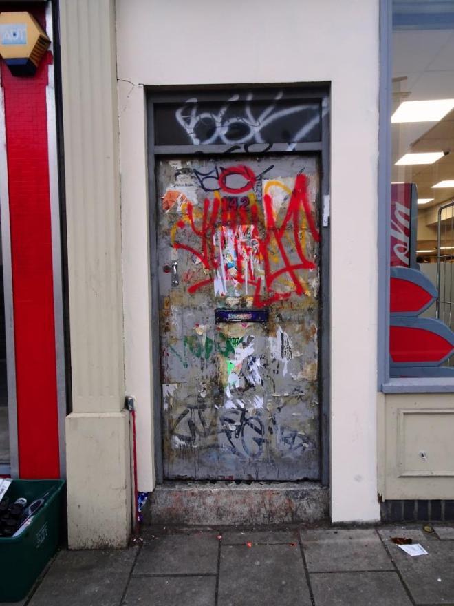 Door, Stokes Croft, Bristol, January 2019