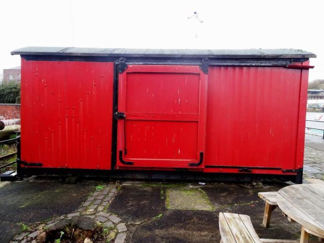 Thursday Doors, Bristol Harbour Railway, January 2019