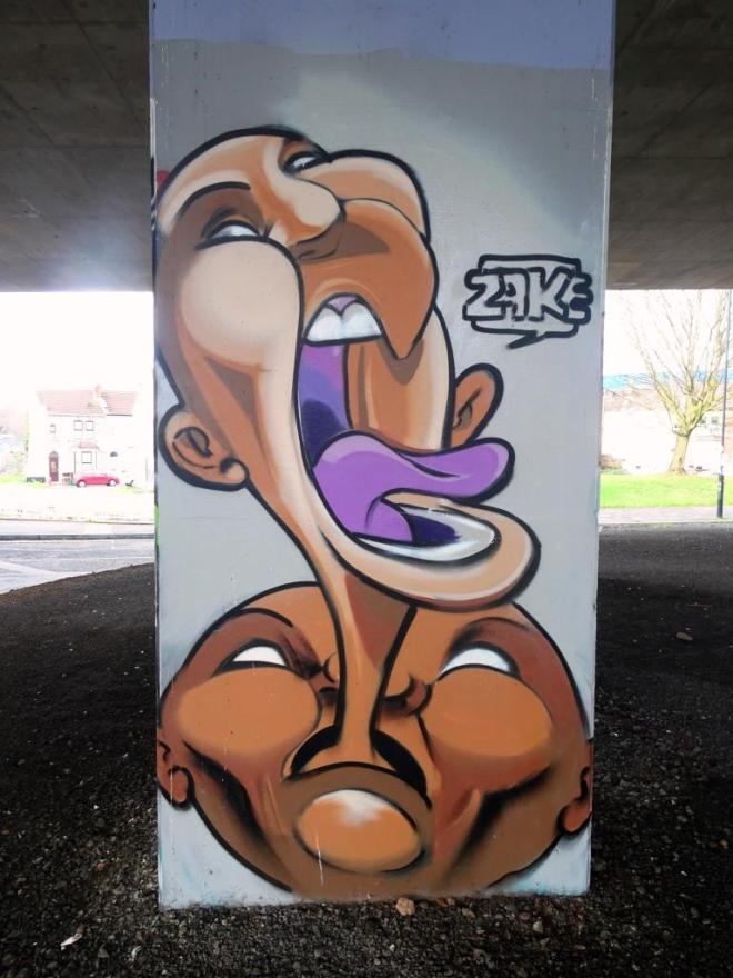 Zake, M32 Spot, Bristol, January 2019