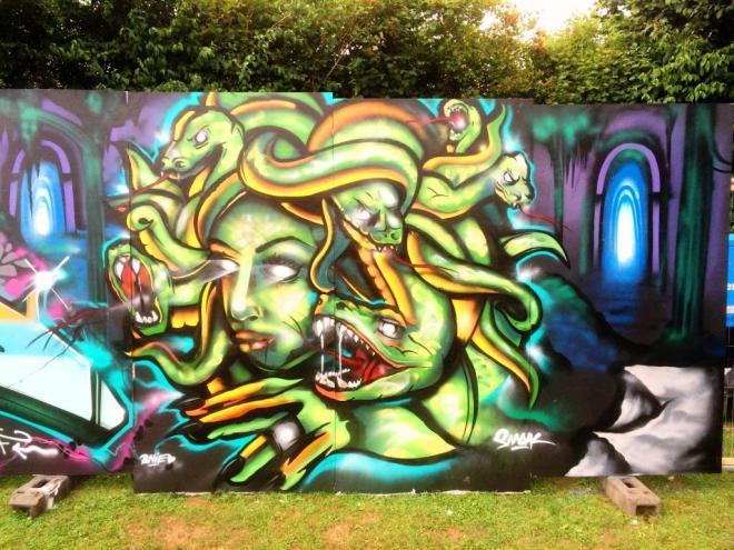 Smak, Upfest, Bristol, July 2016