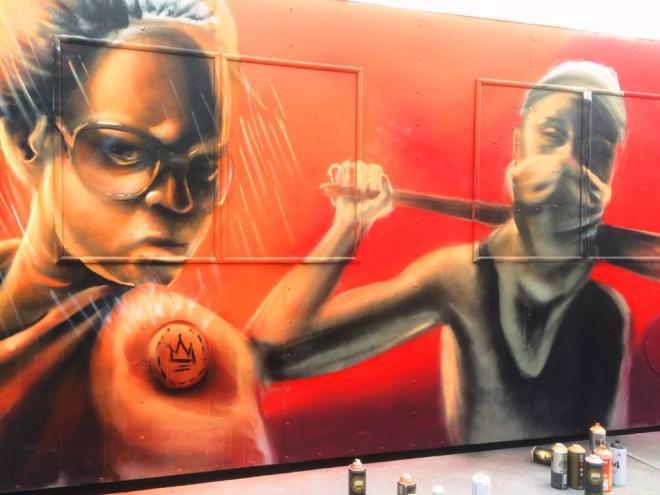 Nomad Clan, Upfest, Bristol, July 2016