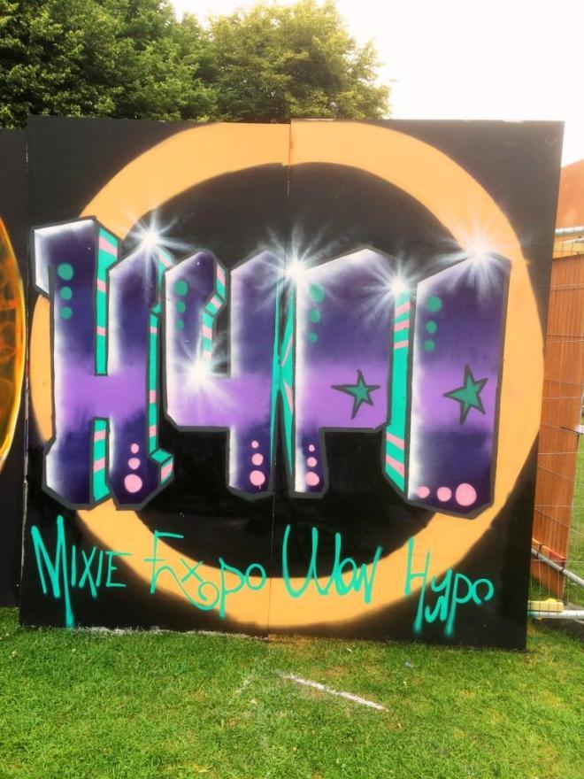 Hypo, Upfest, Bristol, July 2016