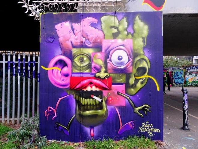 Ewan Blackford, Shoreditch, London, November 2018