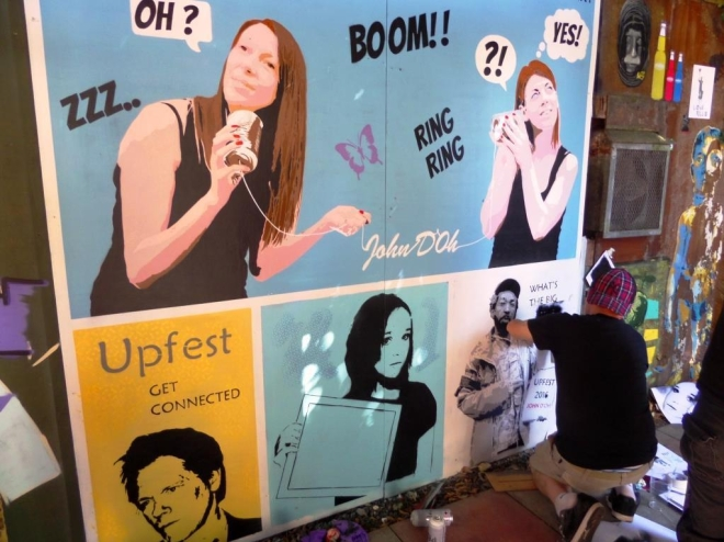 John D'oh, Upfest, Bristol, July 2016