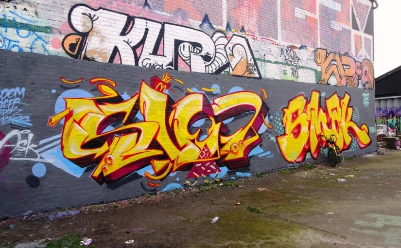 Sled One and Smak, Dean Lane, Bristol, February 2019
