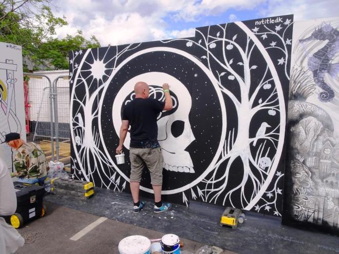 No Title, Upfest, Bristol, July 2018