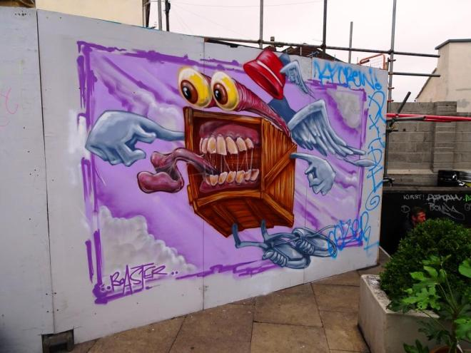 Boaster, Upfest, Bristol, July 2018
