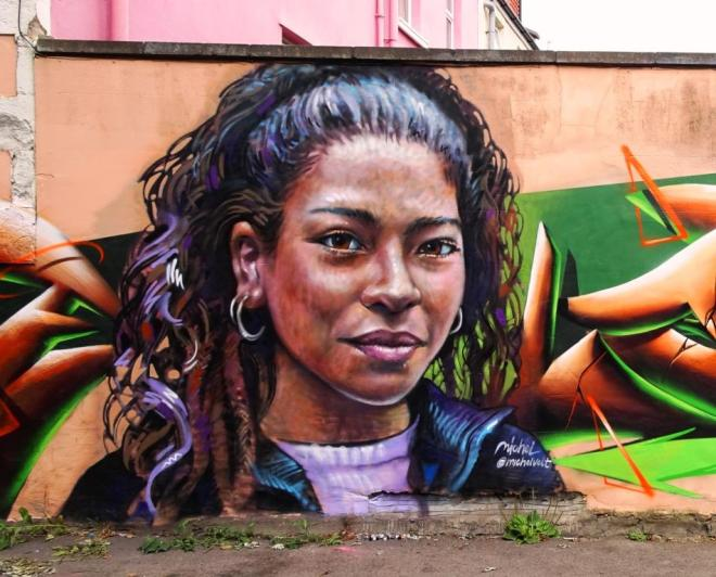 Michel Velt, Upfest, Bristol, July 2018