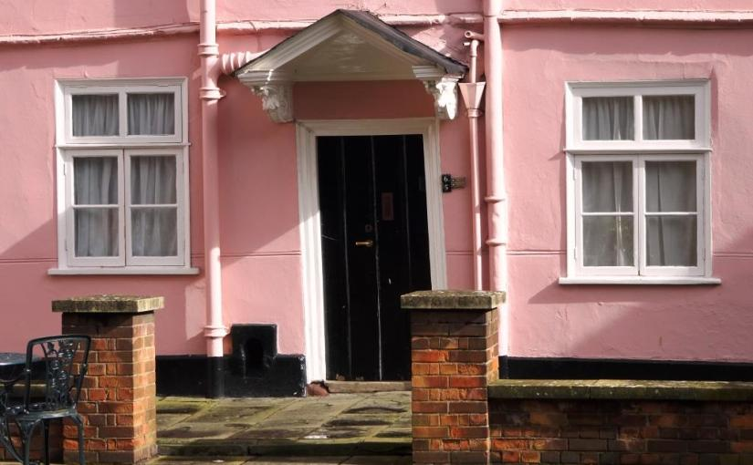 Alms house door, Bristol, March 2019