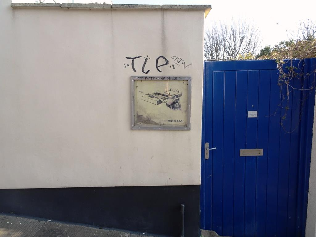 Banksy, Thomas Street North, Bristol, March 2019