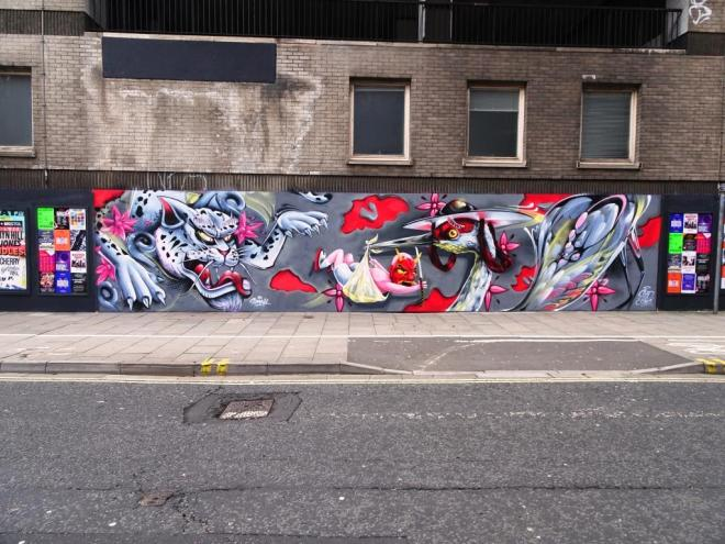 Smak and Sled One, Nelson Street, Bristol, March 2019
