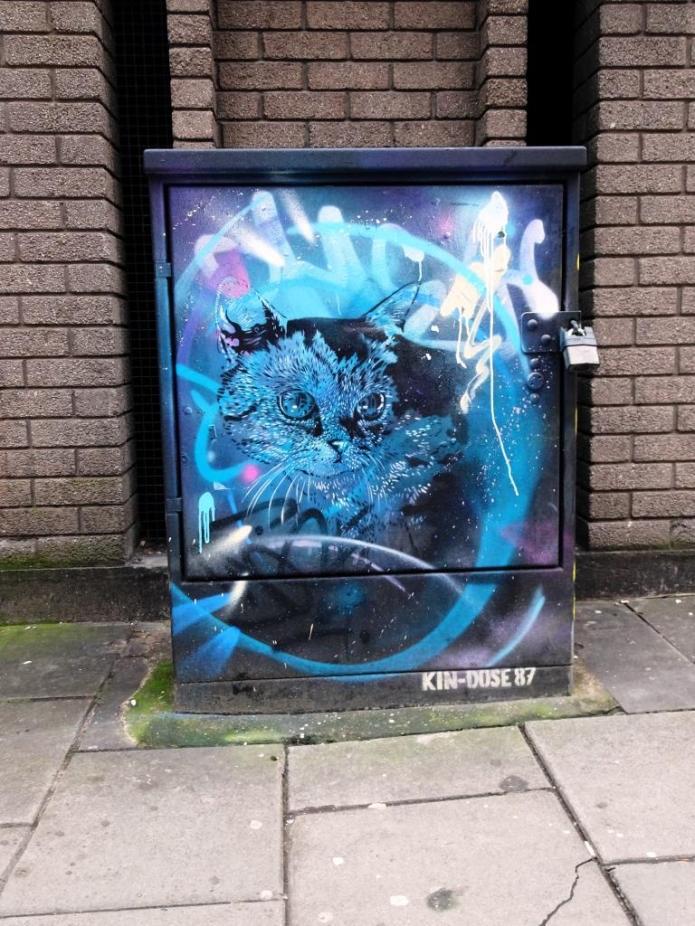 Kin Dose, Nelson Street, Bristol, March 2019