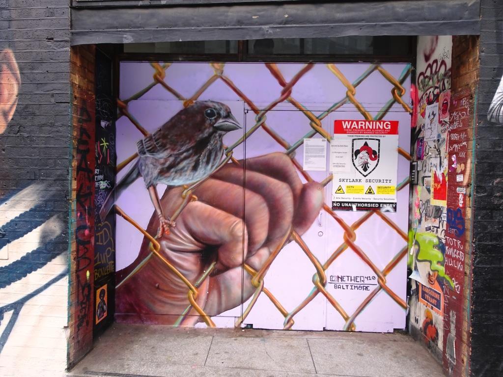 Nether410, Rivington Street, London, April 2019