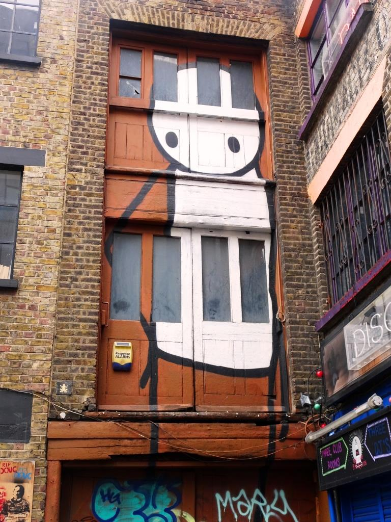 Stik, Rivington Street, London, April 2019